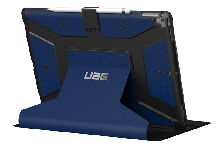 UAG Metropolis Rugged iPad Pro 12.9 2017 Folio Case - Cobalt