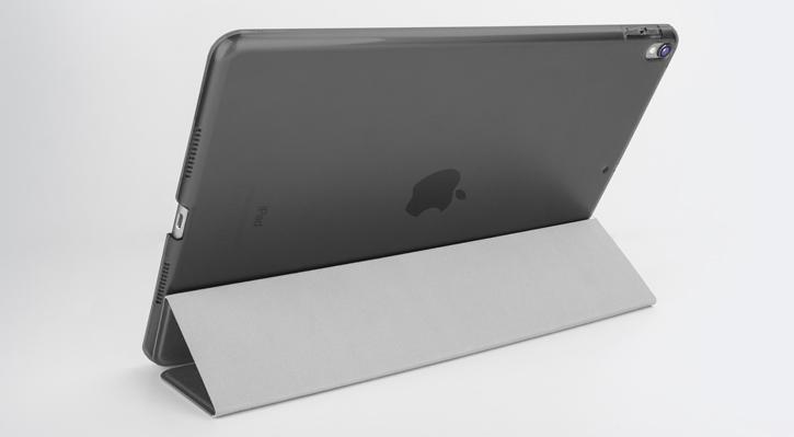 Olixar iPad Pro 10.5 Folding Stand Smart Case - Clear / Black
