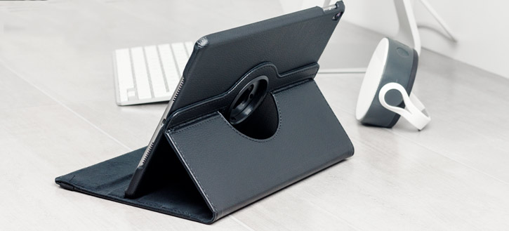 Olixar iPad Pro 10.5 Rotating Stand Case - Black