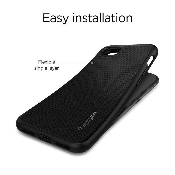 Coque iPhone 8 / 7 Spigen Liquid Air Armor – Noire