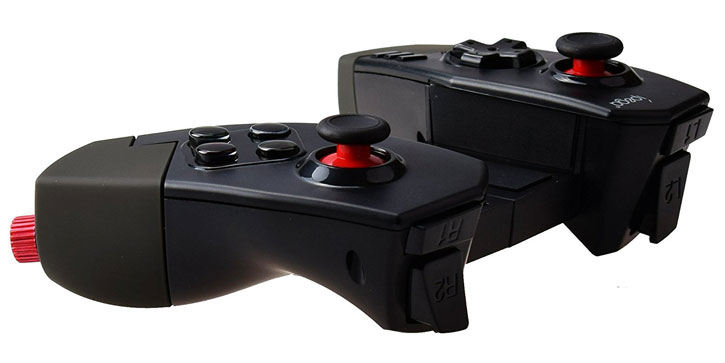 iPega Red Spider Bluetooth Gaming Controller for Android & iOS - Black