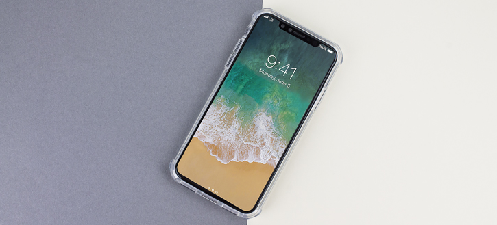 Coque iPhone X Olixar ExoShield Snap-on – Transparente
