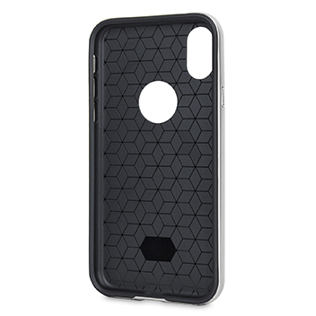 Olixar X-Duo iPhone X Case - Carbon Fibre Silver