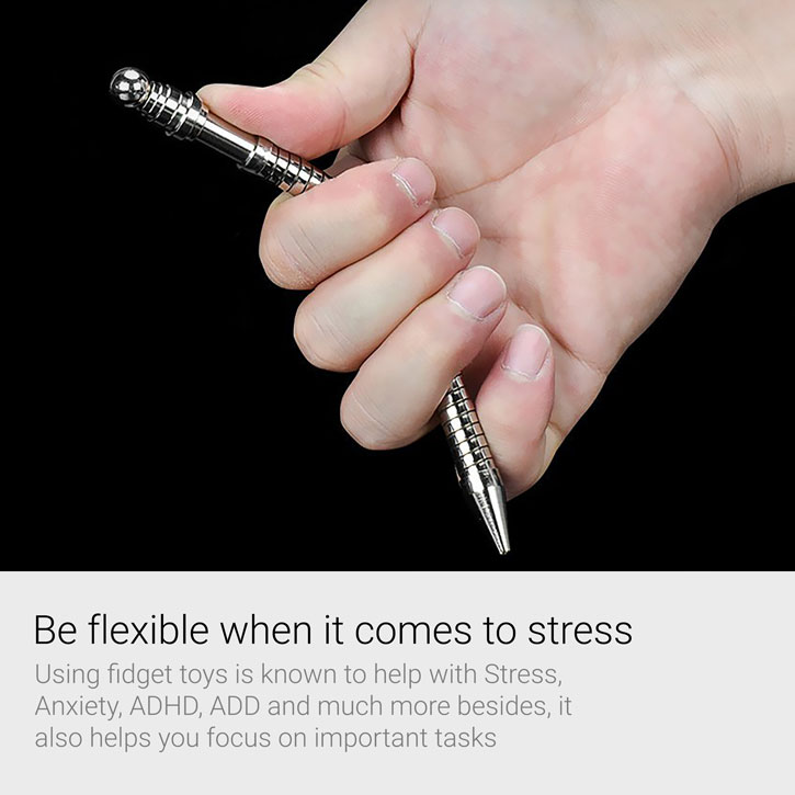 MagnaFlair Premium Metal Fidget Trick Ballpoint Pen