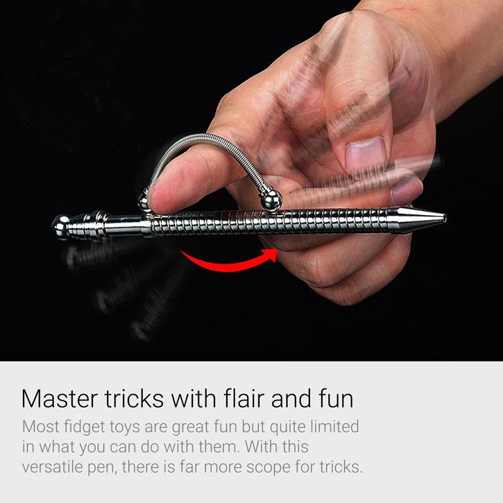 MagnaFlair Premium Metall Fidget Trick Kugelschreiber
