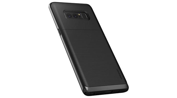 VRS Design High Pro Shield Samsung Galaxy Note 8 Case - Jet Black