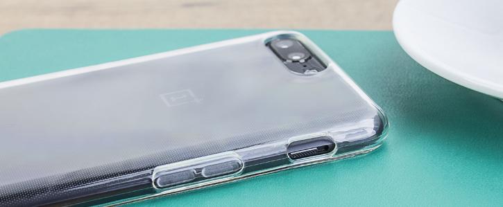 Olixar FlexiShield OnePlus 5 Gel Case - 100% Clear