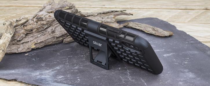 Olixar ArmourDillo iPhone X Protective Case - Black