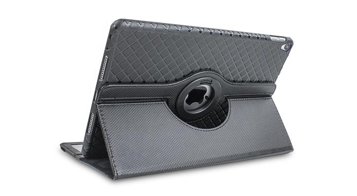 Olixar iPad Pro 10.5 Luxury Rotating Stand Case - Black