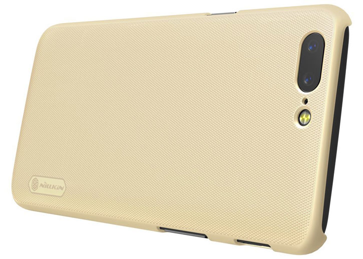 Nillkin Super Frosted Shield OnePlus 5 Shell Case - Gold