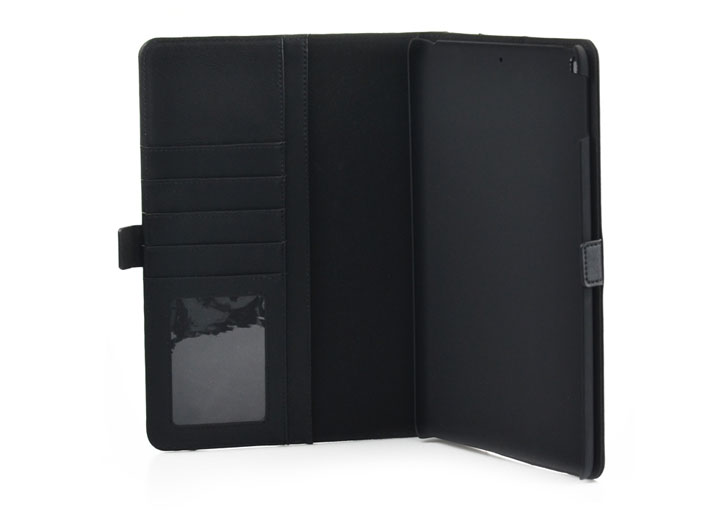 Olixar Leather-Style iPad Pro 10.5 Wallet Stand Case - Black
