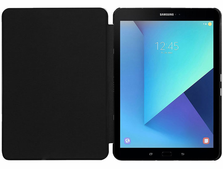 Slim Book Samsung Galaxy Tab S3 Folio Stand Case - Black
