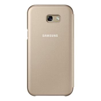 Official Samsung Galaxy A7 2017 Neon Flip Cover - Black