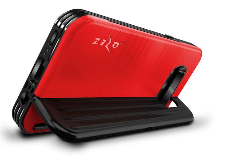 Zizo Retro Samsung Galaxy S8 Plus Wallet Case - Black