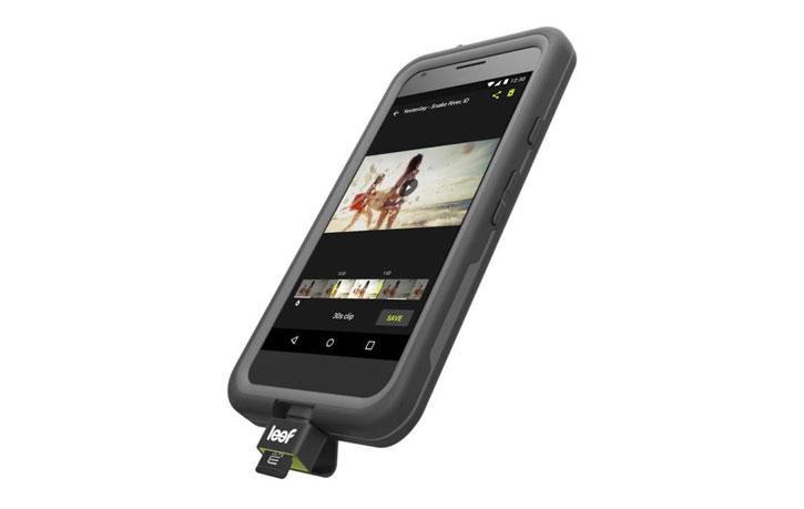 Leef Access-C USB-C Micro SD Card Reader