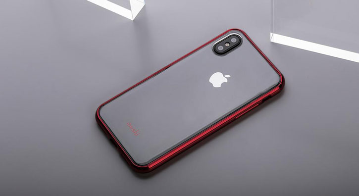d783868dc6 Moshi Vitros iPhone X Slim Case - Crimson Red