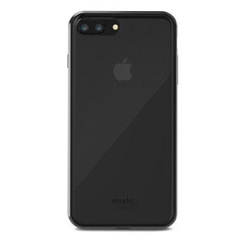 Moshi Vitros iPhone 8 Plus Schlanke Hülle - Schwarz