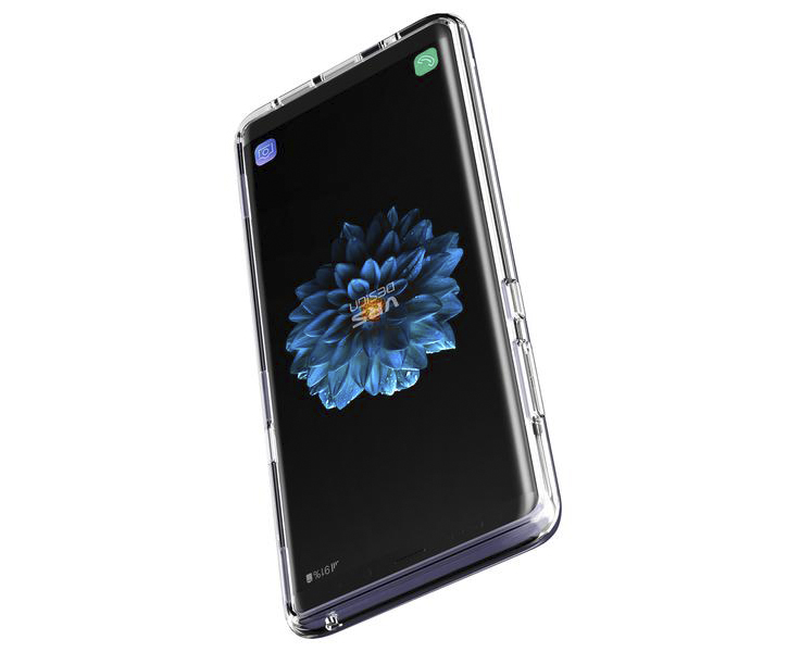 VRS Design Crystal Bumper Samsung Galaxy Note 8 Case - Orchid Grey