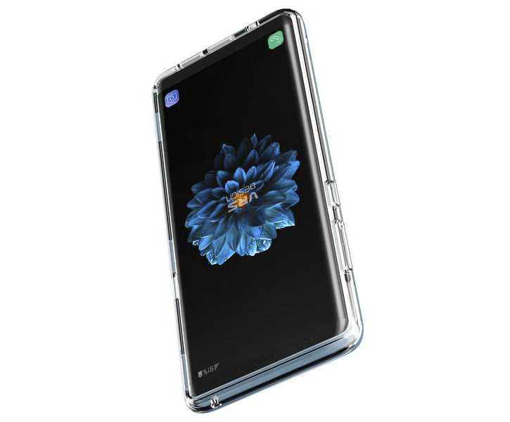 VRS Design Crystal Bumper Samsung Galaxy Note 8 Case - Blue Coral