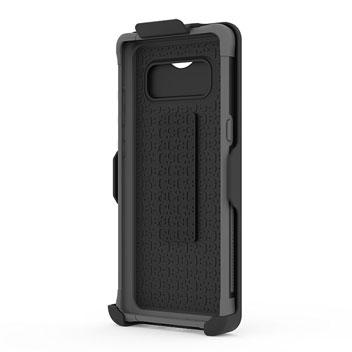 Puregear Dualtek Hip Samsung Galaxy Note 8 Case & Holster - Matt Black