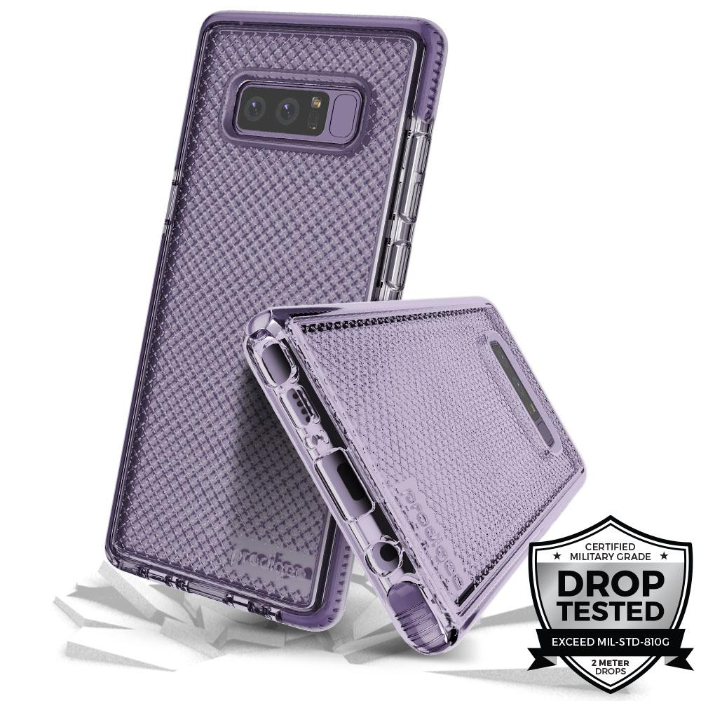 Prodigee Safetee Samsung Galaxy Note 8 Case - Orchid Grey