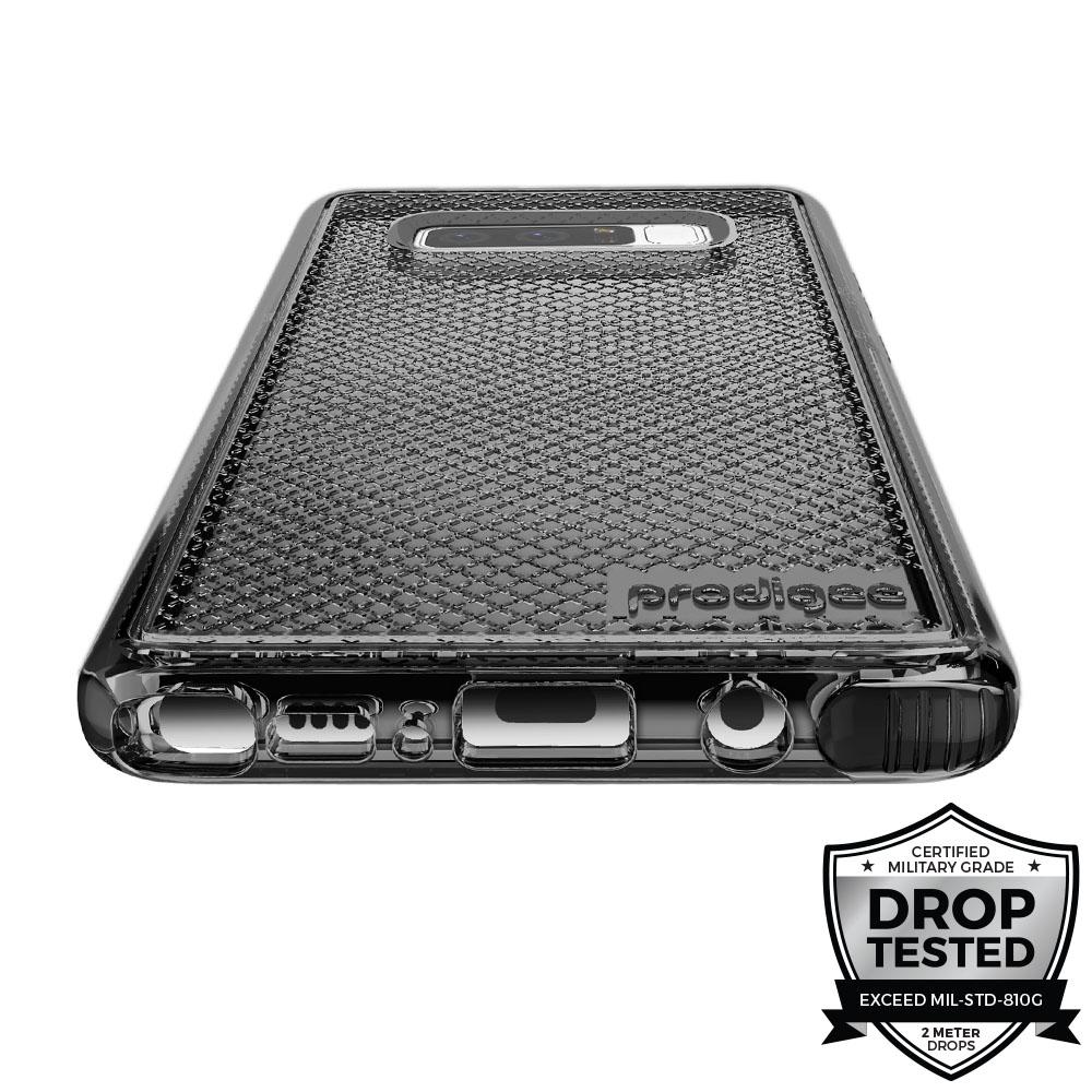 Prodigee Safetee Samsung Galaxy Note 8 Case - Smoke Black
