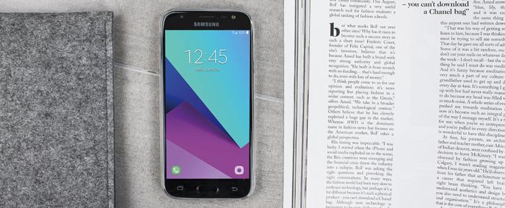 Olixar Ultra-Thin Samsung Galaxy J3 2017 Gel Case - 100% Clear
