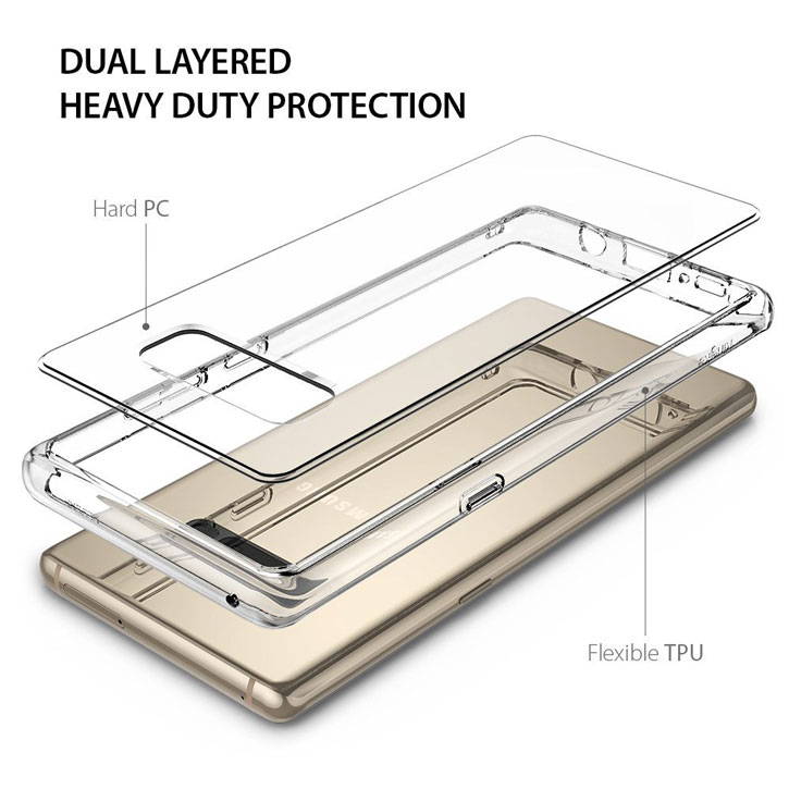 Rearth Ringke Fusion Samsung Galaxy Note 8 Case - Clear