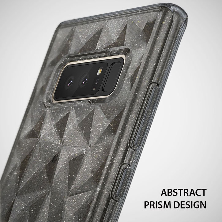 Rearth Ringke Air Prism Samsung Galaxy Note 8 Case - Glitter Grey