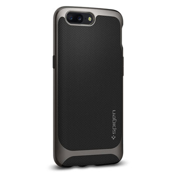 Spigen Neo Hybrid Case OnePlus 5 Hülle- Gunmetal