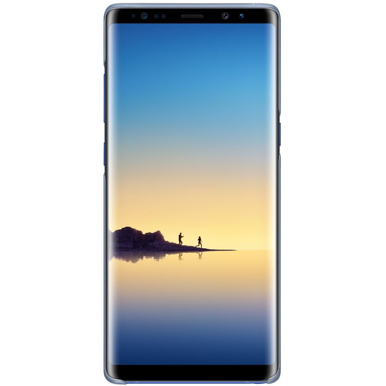 Official Samsung Galaxy Note 8 Clear Cover Case - Deep Blue