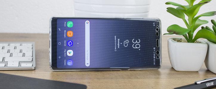 Coque Samsung Galaxy Note 8 Olixar FlexiCover protection complète