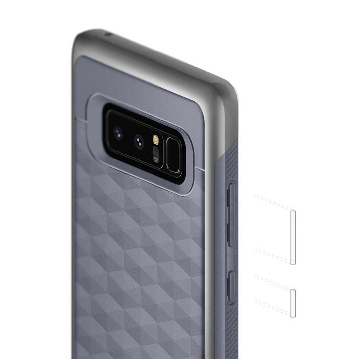 best service 7fe8b efb31 Caseology Galaxy Note 8 Parallax Series Case - Ocean Gray