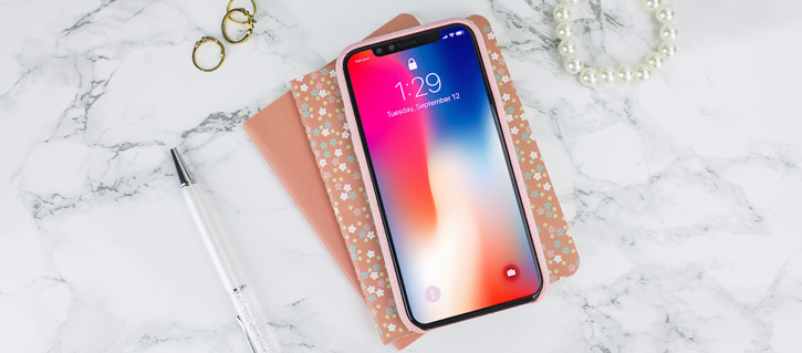 Coque iPhone X LoveCases Pretty in Pastel Jean - Rose