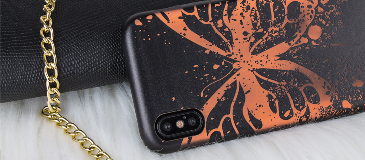 LoveCases Butterfly Effect Colour-Changing iPhone X Case