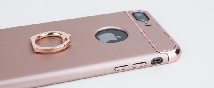 Olixar X-Ring iPhone 8 Plus / 7 Plus Finger Loop Case - Rose Gold