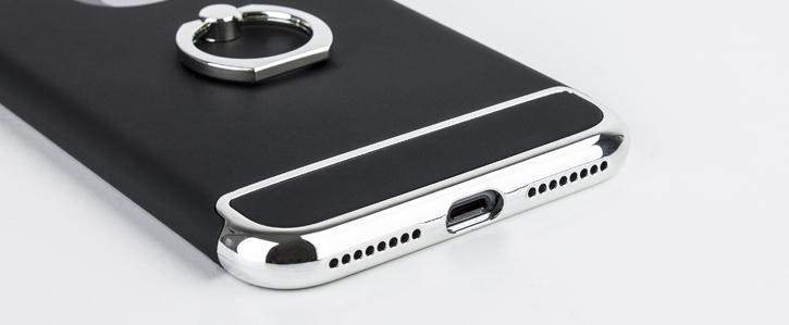 Olixar X-Ring iPhone 8 Plus / 7 Plus Finger Loop Case - Black