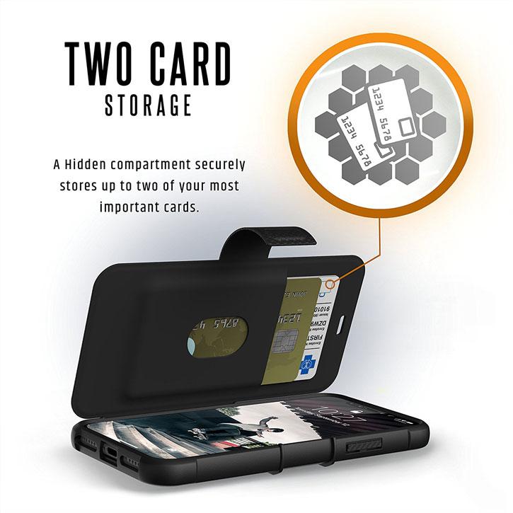 UAG Metropolis Rugged iPhone X Case - Black
