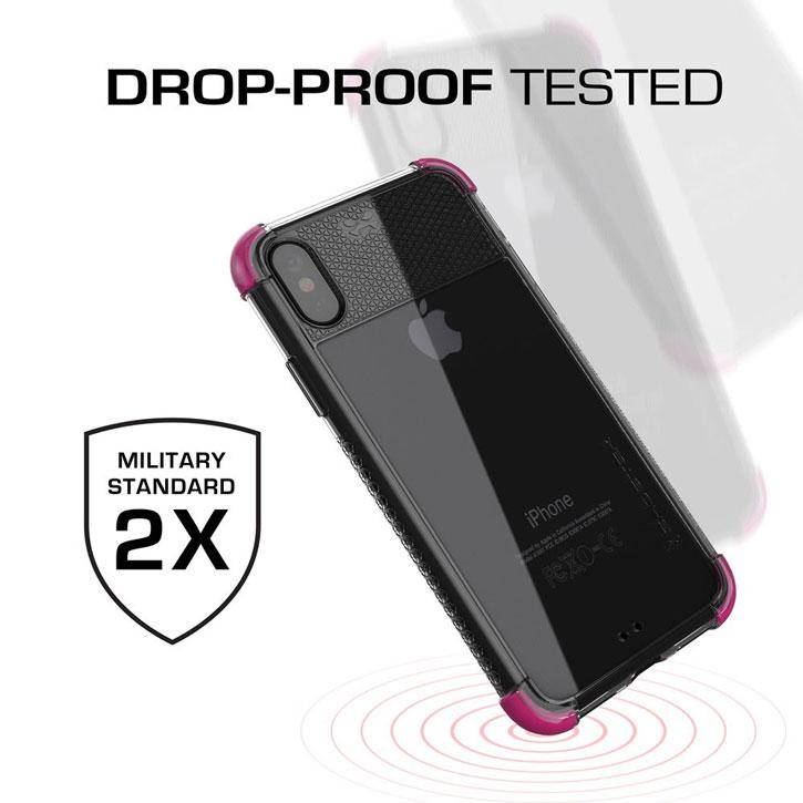 Ghostek Covert 2 Samsung Galaxy Note 8 Bumper Case - Clear / White