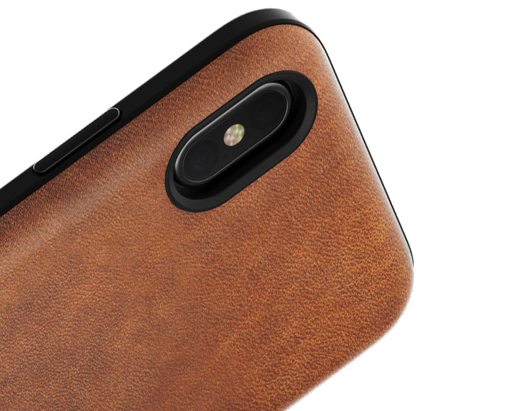 sports shoes 1dd00 88506 Nomad iPhone X Genuine Leather Rugged Case - Rustic Brown
