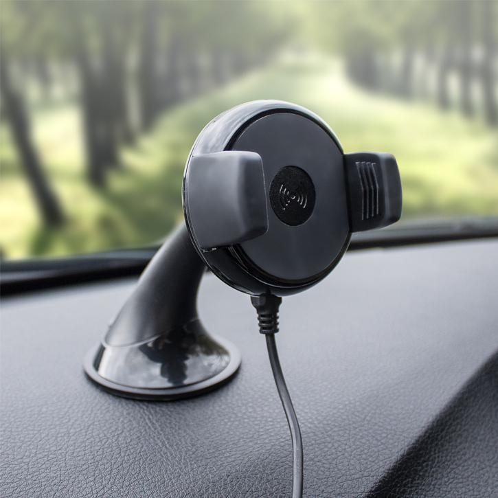 Universal Qi Wireless Charging Windscreen / Dash Car Holder