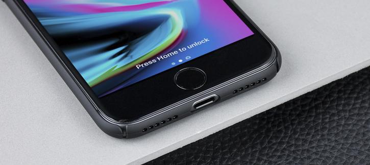 Olixar MeshTex iPhone 8 / 7 Case - Tactical Black