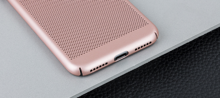Olixar MeshTex iPhone 8 / 7 Case - Rose Gold