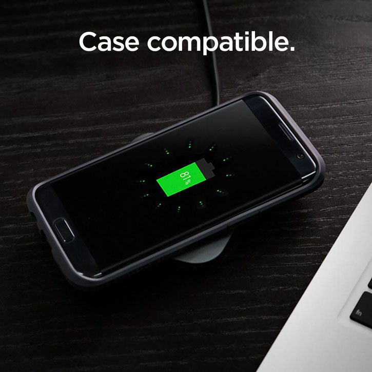 Spigen Essential F301W Universal Ultra Slim Fast Wireless Charging Pad