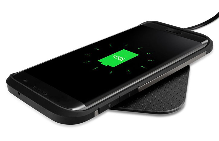 Spigen Essential F302W Universal Wireless Charging Pad - Black