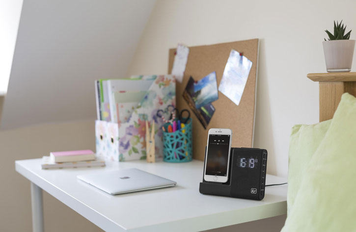 KitSound X-Dock 3 iPhone 6 / 6 Plus Clock Radio Speaker Dock