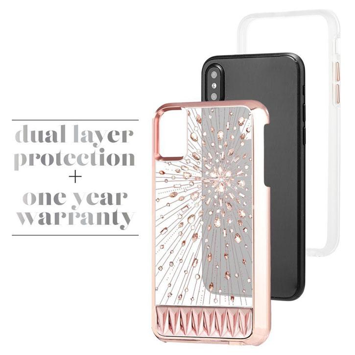 sale retailer d09d4 b01eb Case-Mate Luminescent iPhone X Tough Light Up Case