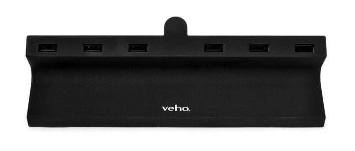 Hub de chargement USB universel Veho TA-6 – 6 ports USB – EU UK US