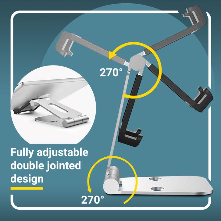 Olixar Aspect Premium Universal Metal Smartphone & Tablet Stand