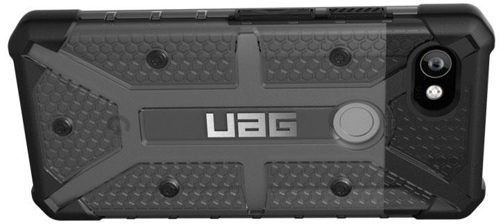 pretty nice 12fd9 f6d0d UAG Plasma Google Pixel 2 XL Protective Case - Ash / Black